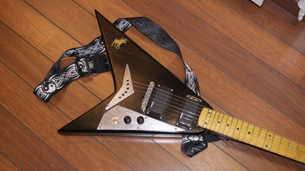 Hjemmelagd Randy Rhoads type V gitar
