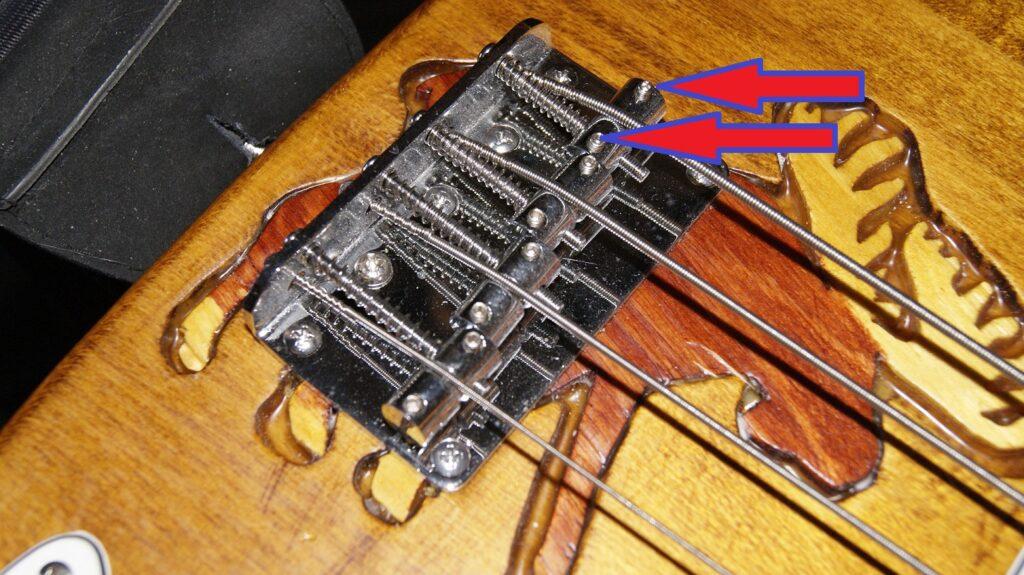 Bass med 4 sadler